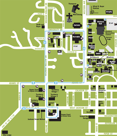 screenshot of Route 4 - Silver PDF map