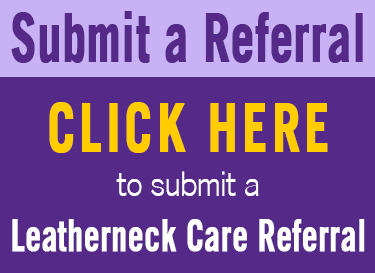 Submit a Leatherneck Care Referral Button